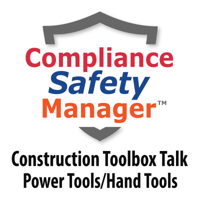 Construction Tool Box Talks   Compliance Safety Manager